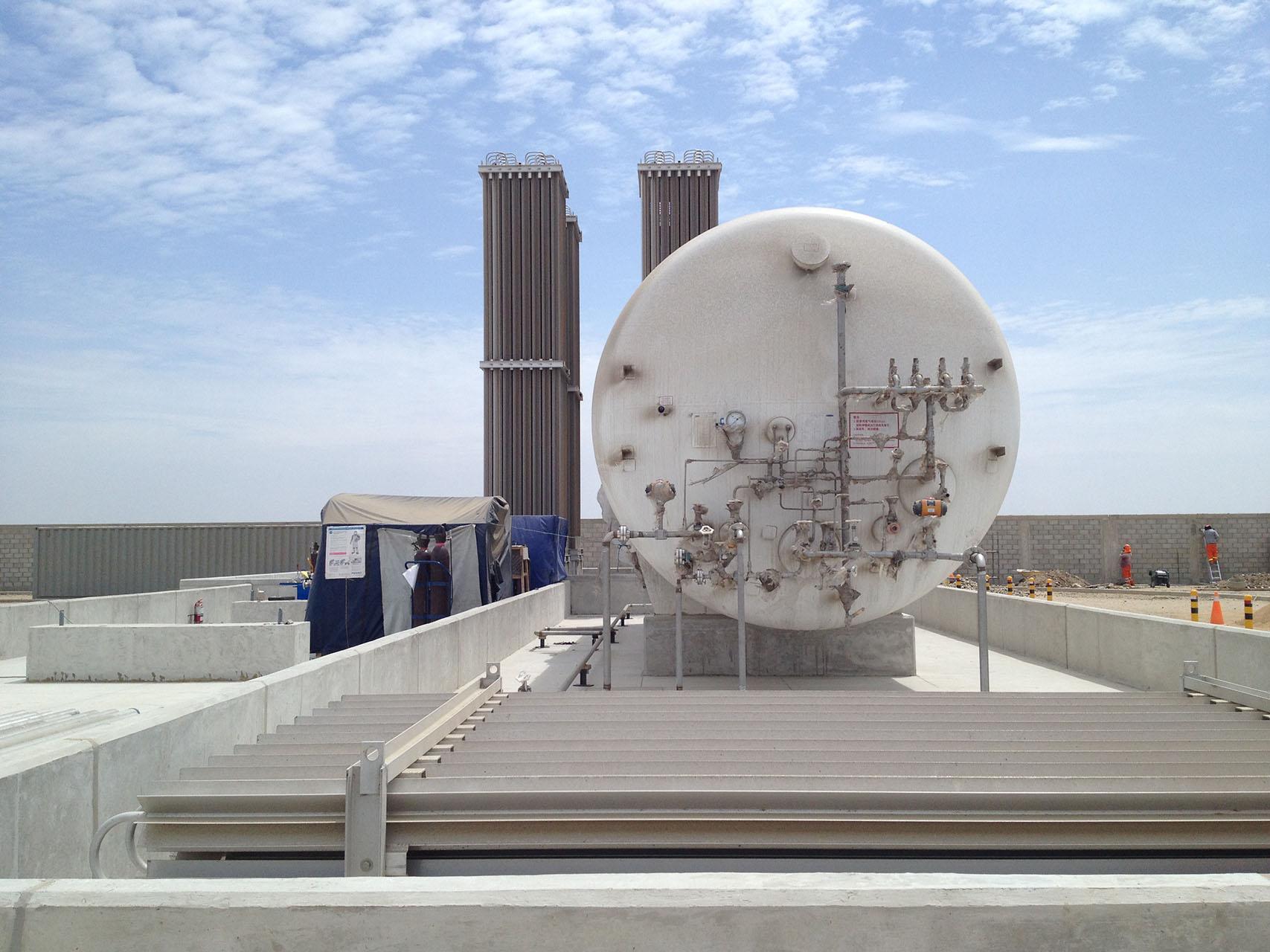Estaciones Satelites de Regasificacion de GNL en Peru