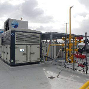 Gasinera para suministro de GNC Vehicular en Palma