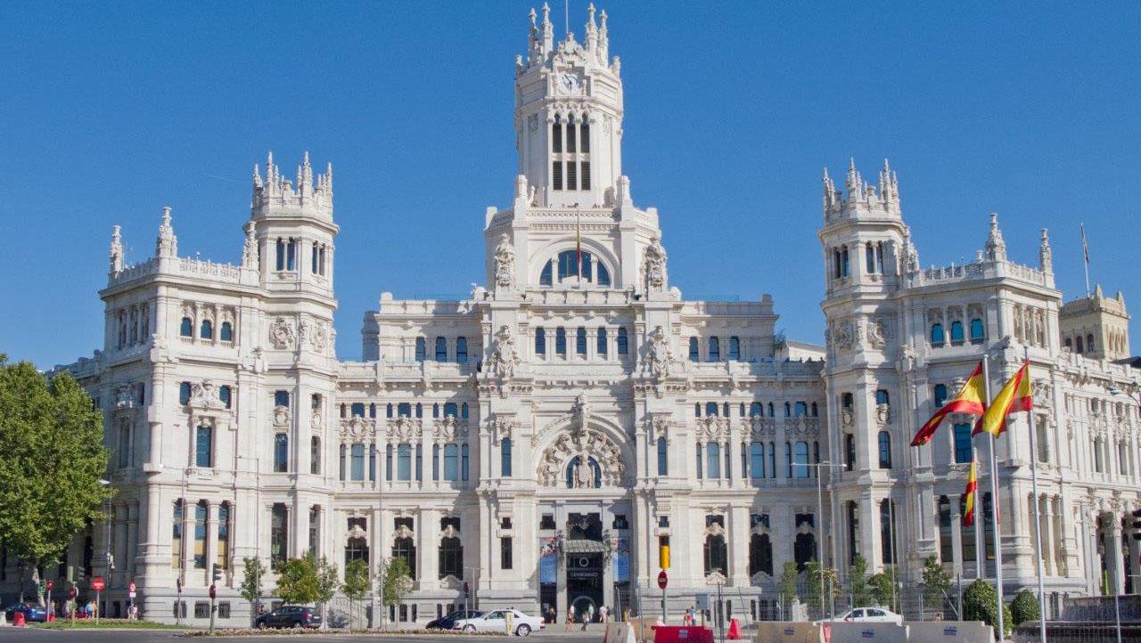 Maintenance Of The Palacio De Cibeles For Madrid City