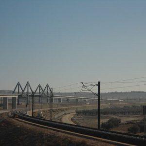 Linea Aerea de Contacto LAV Madrid - Sevilla - Sagra - Toledo - Cordoba - Malaga