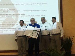 IHSA recibe el Certificado de Industria Limpia del Subsistema de Transporte Nejo