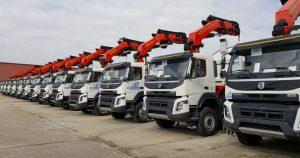 Grupo Cobra renueva su flota de camiones grúa de más de 10 años