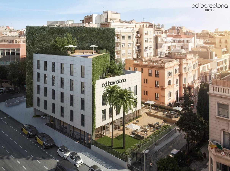 Hotel od barcelona for Pizza jardin marcelo spinola