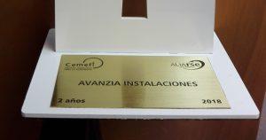 Avanzia Instalaciones e IHSA obtienen el reconocimiento de empresa socialmente responsable