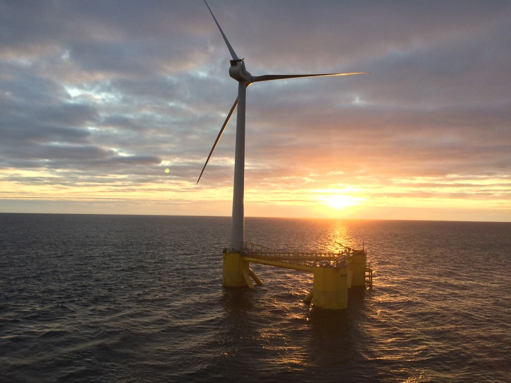 Cobra installs the first turbine of what will become the largest
