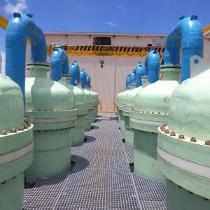 Planta de Tratamiento de Aguas Congénitas de Puerto Gaitan (Colombia)